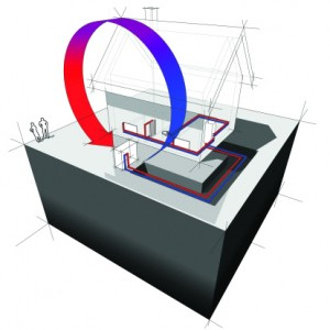 diagram of a heat pump