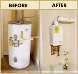 Draining-water Heater