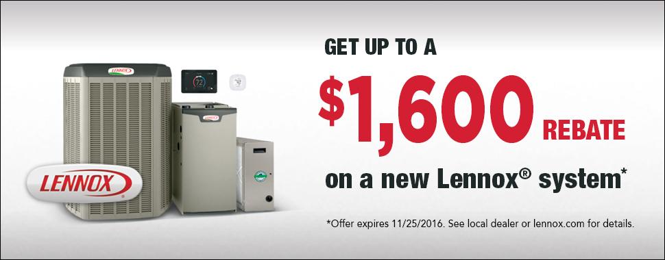 Lennox Air Conditioner Rebate
