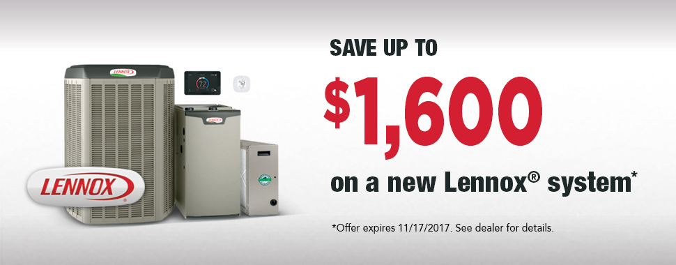 Lennox Air Conditioner Rebate Fall 2017